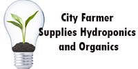 City Farmer Supplies Hydroponics and Organics