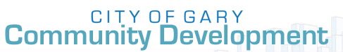 GARY DEPT OF COMMUNITY DEVELOPMENT