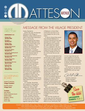 Matteson Newsletter