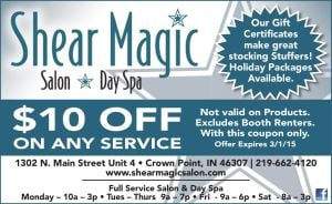 SHEAR MAGIC SALON & SPA
