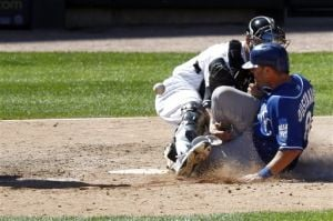 White Sox fall to Royals, lose series