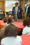 Tuskegee Airman uses aging years to motivate youngsters