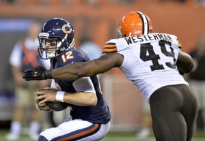 Bears lose preseaon finale to Browns