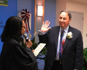 Thornton Township supervisor sworn in for sixth term