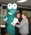 City council welcomes Petey the Perch as mascot