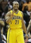 Pacers finally win in Atlanta, on to 2nd round