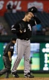 Sox can't back Buehrle in loss at Texas  