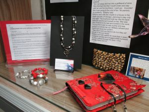 Crete library hosts display on human trafficking
