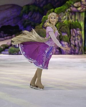 Disney on Ice skater cooks up healthy offerings