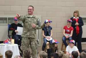 MP special guest at Memorial Elementary's Veterans Day celebration