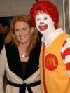 Sarah Ferguson and Ronald McDonald