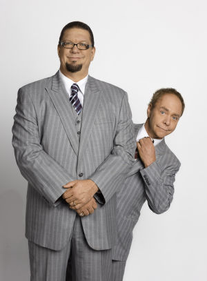 Penn and Teller conjure up magical moments in Hammond