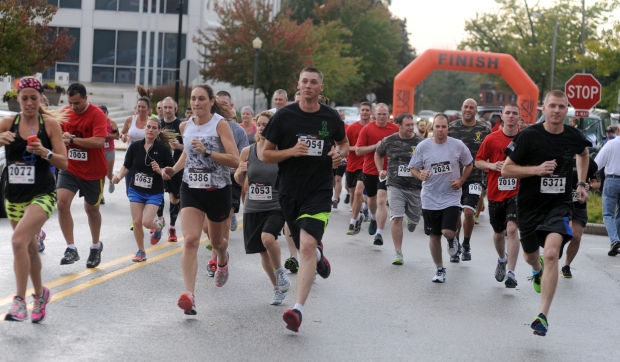 Runners weather the storm to honor Sapper 6