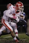 Crown Point at Lake Central Sectional Semifinal football game