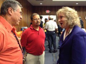 Glenda Ritz touts grassroots approach