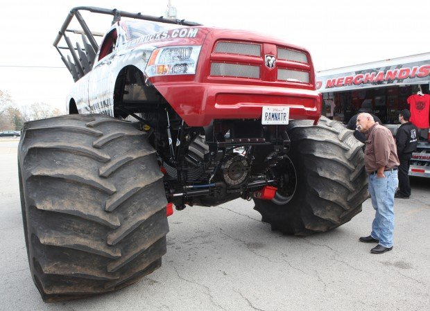 Raminator Monster Truck Flexes Muscle Today In Highland