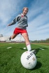 Homewood-Flossmoor soccer midfielder Ali Farkos