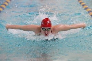 Lake Central takes Highland girls swimming invite