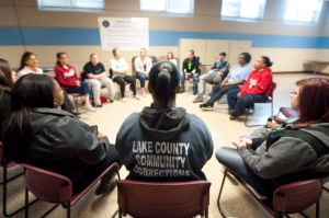 IUN students take classes with women incarcerated at corrections center