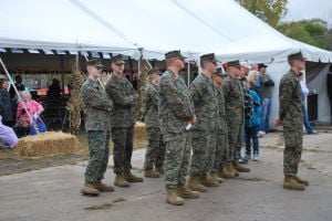 Lansing Autumn Fest's Sunday ceremony to honor military veterans