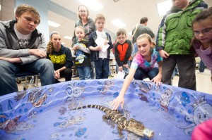 Families get in touch with nature at Liberty Elementary event