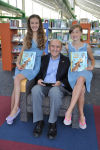 PNC Chancellor James Dworkin with Granddaughters Allison and Abby