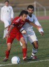Munster battles Valparaiso in the Class 2A Merrillville Soccer Regional