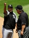 Sox win, Guillen rips ump  