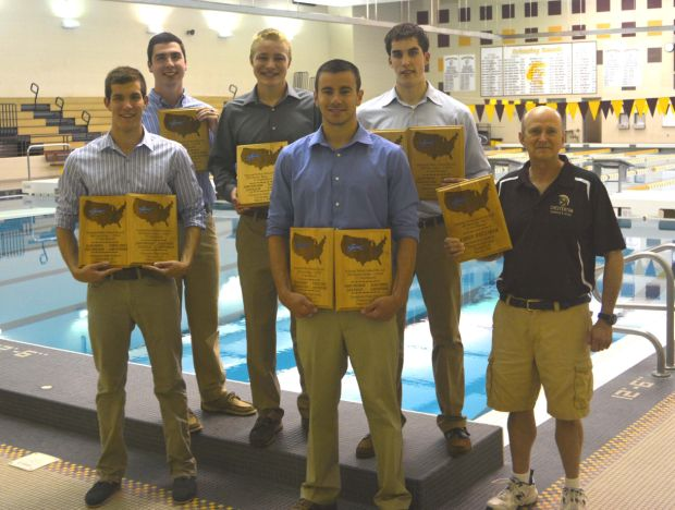 Chesterton boys swimmers pick up national hardware