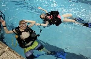 Underwater Space Camp simulates astronaut training