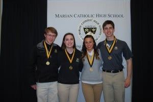 Marian Catholic High School awards 61 Medals of Academic Excellence