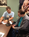 Life Care Center of The Willows resident makes his radio debut