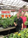 Jerry Jr. and Jerry Sr. Soukal of Soukal Floral and Greenhouses
