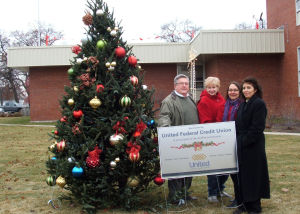 Griffith Christmas Trees Donated