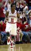 Short-handed Indiana beats No. 22 Ohio State 72-64