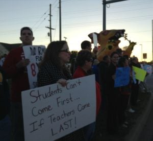 Teachers frustrated with contract bargaining process