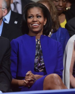 First lady fashion lights up debate stage