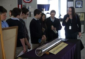 St. John Bosco students tour region Civil War exhibit