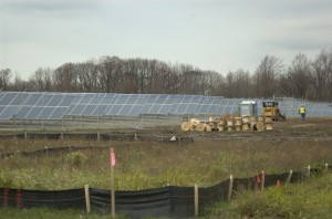 Installation of 6,800 solar panels is nearly complete