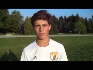 Chesterton senior soccer player Jared O'Dell
