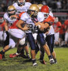 Prep football, N. Judson at Kankakee Valley