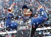 Johnson wins 2nd Daytona 500; Patrick finishes 8th