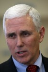 Pence declares focus is jobs
