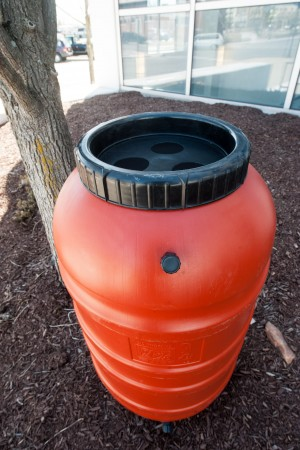 Rain barrels put free water to good use