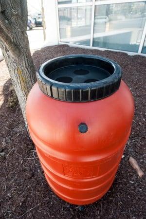 Rain barrels put free water to good use