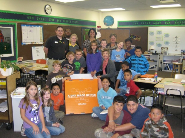 A day made better for handley elementary school and for Laporte schools employment