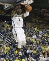 Michigan forward Glenn Robinson III