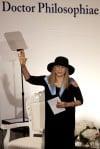 In Israel, Streisand slams treatment of women