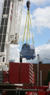Mega magnet arrives in Munster