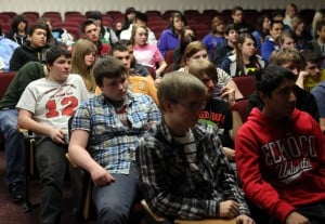 River Forest freshmen urged to earn diplomas, learn from mentors